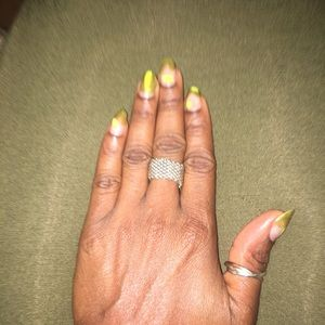 Tiffany & Co. Jewelry - Authentic Tiffany & Co silver somerset mesh ring
